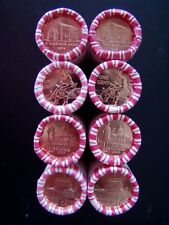 2009 P&D 8 ROLLS H/T LINCOLN CENT LOG CABIN  FORMATIVE  PROFESSIONAL  PRESIDENCY
