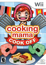 Cooking Mama Cook Off Wii Great Condition Complete Fast Shipping