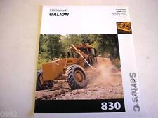Galion 830 Series C Motor Grader Color Brochu 00006000 re b2