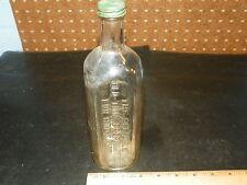 Vintage DR. PETER FAHRNEY & SONS Old Time Preperation Bottle - Chicago, IL     *