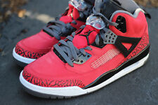2012 Nike Air Jordan Spizike Gym Red US 11 UK 10 45 noir gris Raging Bulls