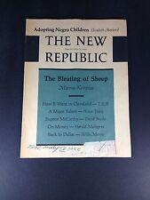 The New Republic June 20, 1964, Adopting Negro Children By Elizabeth Shepherd