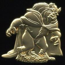 M&P Japan 100 Relief Goldtone Beauty and the Beast LE 500 Disney Pin 49389