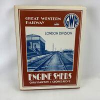 Great Western Railways Engine Shed London Division HARDBACK train book 1987