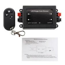 DC 12/24V Single Color 3 Key LED Wireless Dimmer Controller+RF remote control EN