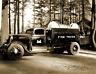 """1935 Fire Truck, Bonneville, Oregon Vintage Old Photo 8.5"""" x 11"""" Reprint"""