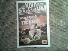 Programm FC St.Pauli - FC Ingolstadt 13/14