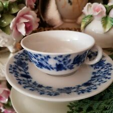 Limoges Pillivuyt France Coffee Cup and Saucer