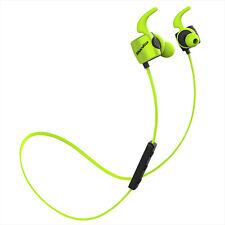 Bluedio TE (Turbine) Auriculares Deportivos Bluetooth para Iphone Samsung Verde