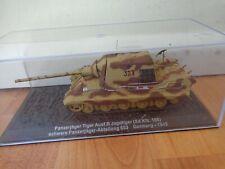 ATLAS DEAGOSTINI 1/72 TIGER AUSF.B JAGDTIGER SD.KFZ.186 GERMANY 1945 WW2 TANK