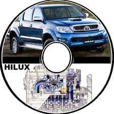 HILUX WORKMATE SR SR5 2WD-4WD MASTER REPAIR WORKSHOP MANUALCD