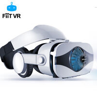 3D VR Box Headset Fan Cooling Virtual Reality 3D Glasses For iPhone 6 7 Samsung