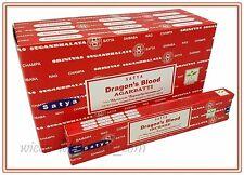 Lot of 12 Box Original Nag Champa DRAGON BLOOD Incense Stick 12 x 15gr = 180gr