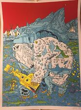 KUKUWEAQ 3 PRINT TYLER STOUT POSTER SIGNED NUMBERED 2X/205 FANTAGRAPHICS 1 2