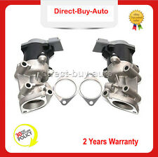Pair For Land Rover Discovery MK IV 3.0 TD EGR Valve LR018466 Left + Right