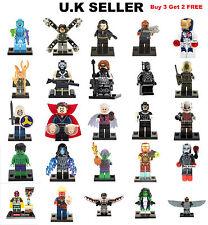 Marvel Minifigure Avengers Iron Man Antman Hulk Fit Lego Dr Octopus Mini Figure