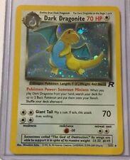 Team Rocket Colorless Holofoil Rare Pokémon Individual Cards
