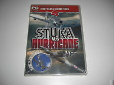 STUKA VS HURRICANE Pc Cd Add-On Flight Simulator Sim 2004 & X FS2004 FSX - NEW