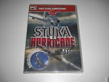 STUKA VS HURRICANE Pc Cd Add-On Flight Simulator Sim 2004 & X FS2004 FSX - NEW