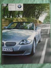 BMW Z4 Roadster range brochure 2005 ed 2 German text