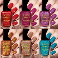F.U.N Lacquer - Valentines 2020 Collection - Micro Fine Glitter Holo Nail Polish