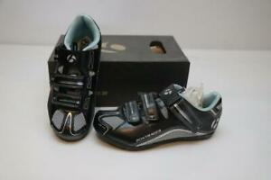 New Bontrager Solstice Multisport Bike Shoes 36 5 SPD Black Women's Cycling Spin