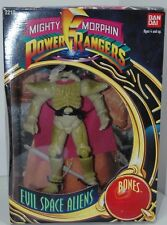 Power Rangers BONES Evil Space Aliens w/ Weapon in Box