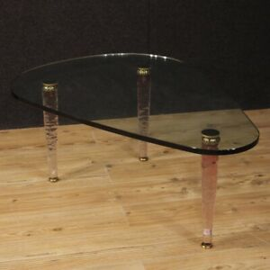 Small Table Design Italian Table Low Living Room Crystal Brass Modern 900