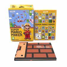Super Mario Maker Boxed Complete   Wii U   Nintendo   VGC   PAL