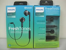 Philips-SHB5250BK-Wireless-Bluetooth-Earphones-Headphones-Headset-w-Mic-Black