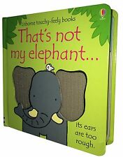 That's Not My Elephant (Usborne Touchy-Feely Board Books), F. Watt, R. Wells