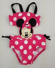 Disney Baby Girl Month Minnie Mouse Swim Bathing Suit Infant