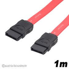 """SATA 150 Anschluss-Daten-Kabel Serial-ATA 300MB/s 1m"