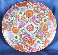 "Satsuma Shimazu Meiji Mille Fleur Plate 10"" d."