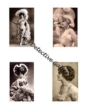 Edwardian Ladies #1 - Photo Collage for Scrapbooking / Crafts / ATCs / ACEOs