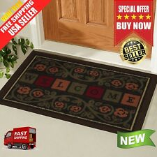 Home Outdoor Non Slip Rug Floor Doormat Welcome Mat Entrance Front Door Mats New