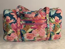 Vera Bradley Large Duffle Travel Overnight Bag Multicolor Floral