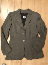 Armani Collezioni  brown/kaki suit jacket size IT 40 UK 8