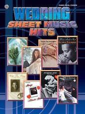 Wedding Sheet Music Hits-ExLibrary