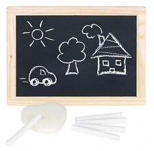 Ardoise avec cadre en bois - tableau ardoise - ardoise enfant pour dessiner**
