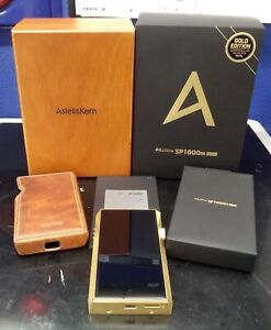 Astell&Kern A&ultima SP1000M DAP Limited ed of 200 units 99.7% pure gold plating