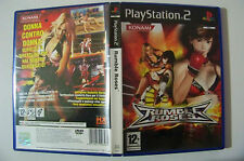RUMBLE ROSES versione italiana PS2 playstation 2 con manuale