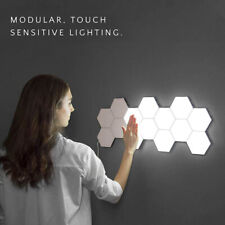 DIY Quantum Lamp Led Hexagonal Lamps Modular Touch Sensitive Lighting Nightlight