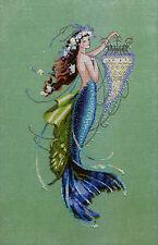 Cross Stitch Chart / Pattern ~ Mirabilia Mermaid Siren and the Shipwreck #MD125