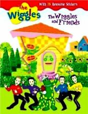 The Wiggles and Friends w 75 reusable Sticker storie book NEW like color forms