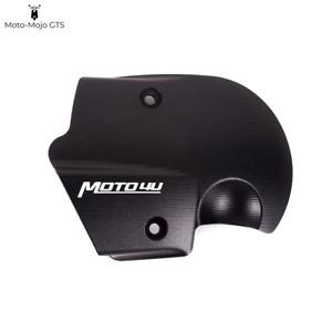 Vespa GTS GTV GT Front Transmission Cooling Cover 125 200 250 300 Black