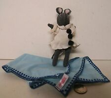 """Angelina Ballerina Grey Mouse Doll White Clown Suit American Girl 6"""" Plush !!!"""