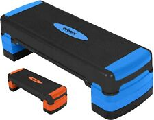 RDX Aerobic Step with 3 Adjustable Height Exercise Yoga Step Board Gym Fitness