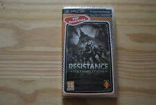 RESISTANCE RETRIBUTION pour PSP