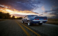 """CAMARO SS VINTAGE NEW A4 CANVAS GICLEE ART PRINT POSTER 11.7"""" x 7.6"""""""